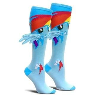 My Little Pony Rainbow Dash Knee High Socks with Wings