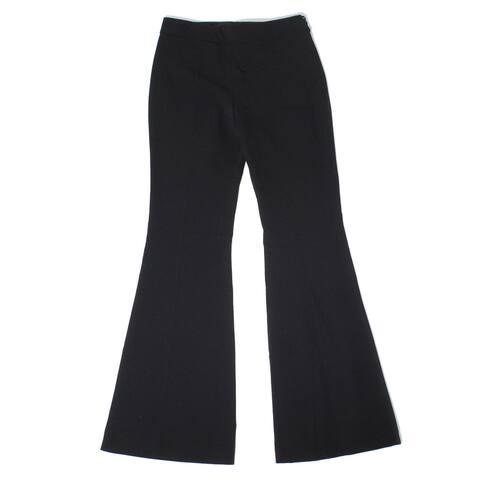 Boutique Moschino Womens Pants Black Size 2 IT 36 Flare Leg Dress