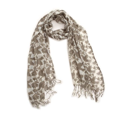 Richie House Women's Blue Doves Scarf
