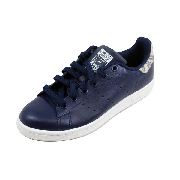 Shop Adidas Women s Stan Smith Collegiate Navy White B26592 - Free ... f0c2b60ff