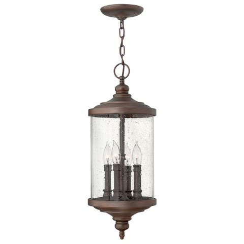 Hinkley Lighting 1752 4 Light Outdoor Lantern Pendant from the - Victorian Bronze