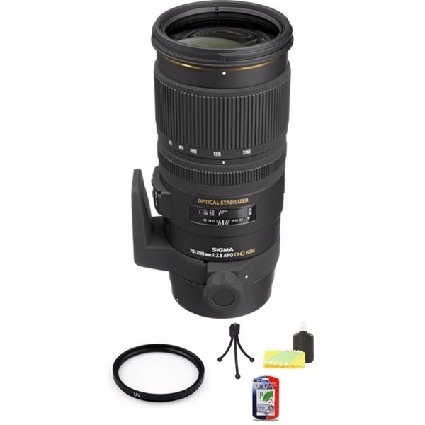 Sigma 70-200mm HSM for Canon Lens Bundle