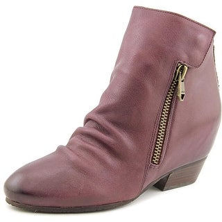 Naya Fillie Women Round Toe Leather Purple Ankle Boot