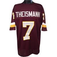Joe Theismann unsigned Maroon TB Custom Stitched Pro Style Football Jersey XL