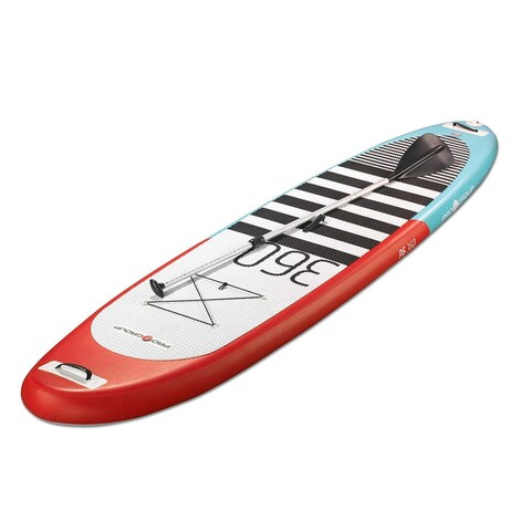 "Pro 6, P6-360, Inflatable SUP 12' L x 32"" W / Carries up to 306 lbs weight"