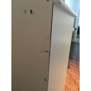 Altra Mercer 6 Door Storage Cabinet With Multi Colored