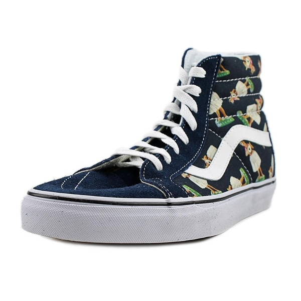 4eddf64c6a Shop Vans Sk8-Hi Reissue Men Round Toe Canvas Blue Skate Shoe - Free ...