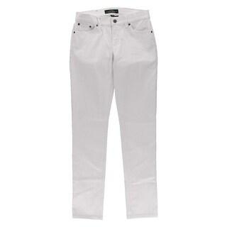 LRL Lauren Jeans Co. Womens Denim Low Rise Skinny Jeans