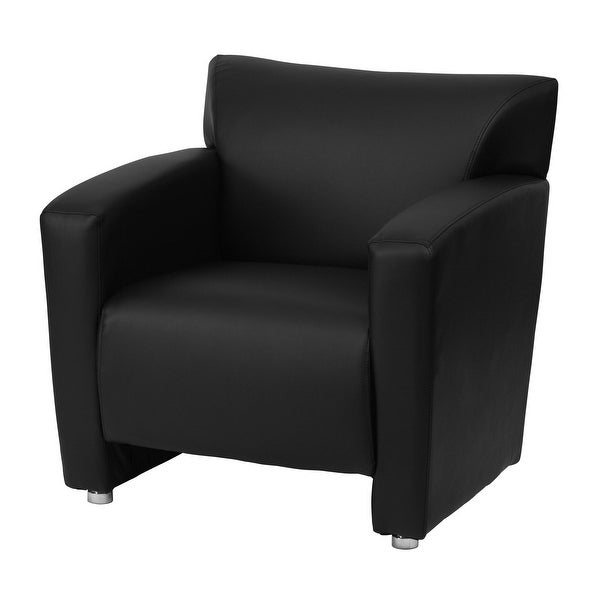 Brilliant Shop Delacora Ff 222 1 31 25 Wide Leather Accent Chair Machost Co Dining Chair Design Ideas Machostcouk