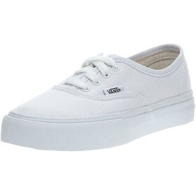 Vans Unisex Baby Authentic (Infant/Toddler) - True White - 5