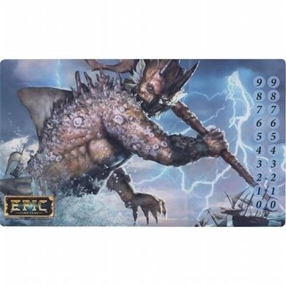 White Wizard Games WWG301 Epic Sea Titan Play Mat