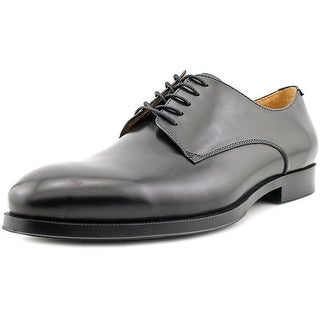 Aldo Ridgley-97 Men Round Toe Leather Black Oxford