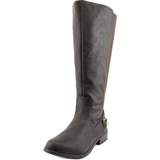 Nautica Ridgeland Wide Calf W Round Toe Leather Knee High Boot