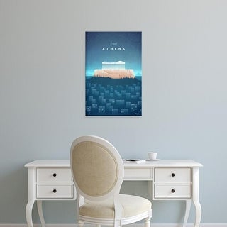 Easy Art Prints Henry Rivers's 'Athens' Premium Canvas Art