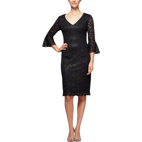 26b812a7a25 Alex Evenings Womens Special Occasion Dress Party Lace
