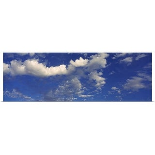 """""""Clouds in the sky"""" Poster Print"""