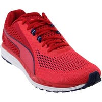 PUMA Mens Speed 500 Ignite 2 Low Top Lace Up Running Sneaker