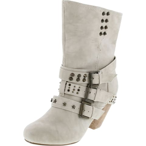 Not Rated Women's With Pride Ankle Boot - Cream. - 10 B(M) US