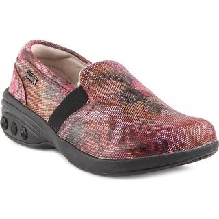 Therafit Women's Annie Slip-On Shoe Rose Leather