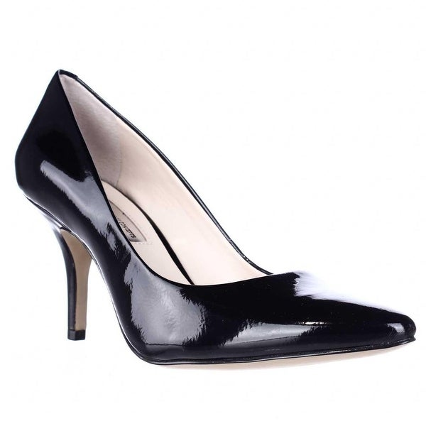 I35 Zitah Classic Pointed Toe Pump Heels, Black Patent - 7.5 us