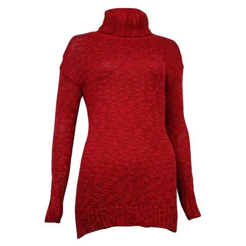 American Living Women's Marled Turtleneck Long Sleeves Sweater