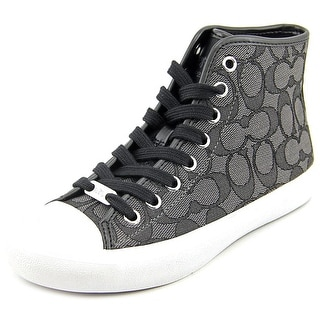 Coach Emerald Sig C Women Canvas Gray Fashion Sneakers