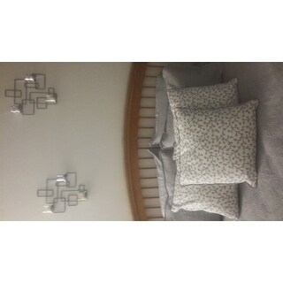 Traditional Embroidered Mediallion 3-piece Solid Quilt Set by Southshore Fine Linens