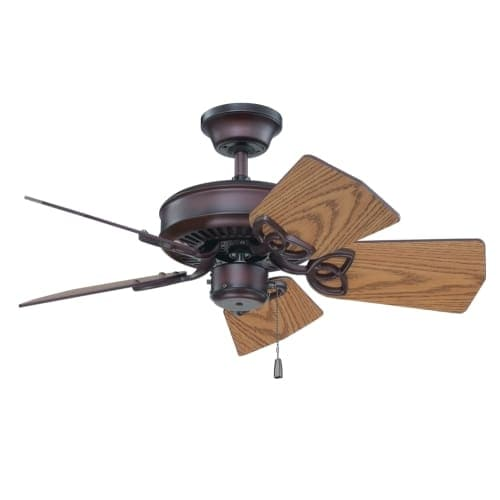 "Craftmade K11243 Piccolo 30"" 5 Blade Indoor / Outdoor Ceiling Fan with Blades Included"