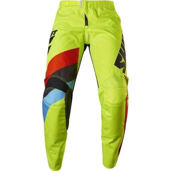 Fox Racing Youth Whit3 Tarmac Pant - Flo Yellow - 17220 - flo yellow
