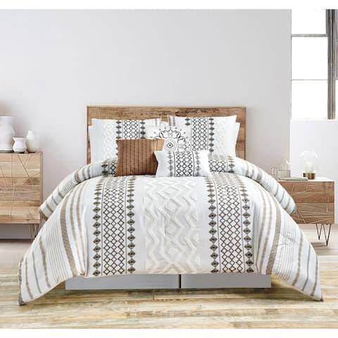 Grand Avenue Elmer 7 Piece Comforter Set