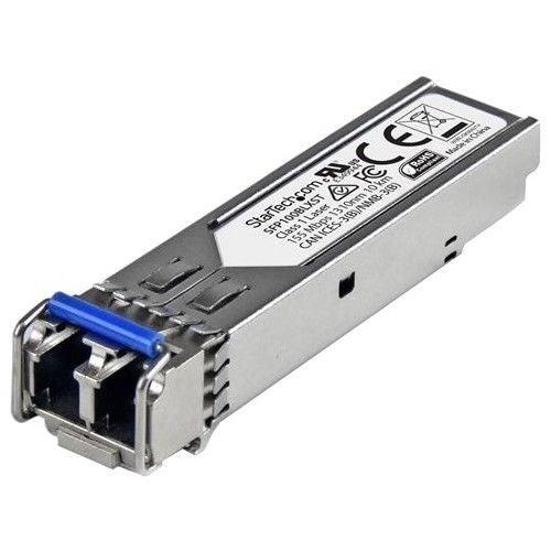 Startech.Com Msa Compliant 100Base-Lx Sfp Transceiver Sm Lc - 10 Km /6.2 Mi