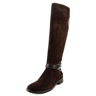Aerosoles Ring Dish Women  Round Toe Suede Brown Knee High Boot
