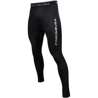 Haybusa Haburi Breathable Wicking Compression Pants - Black