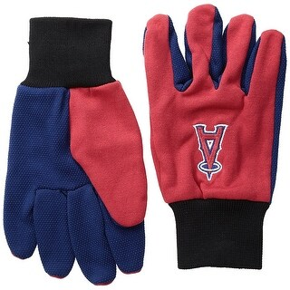 Officially Licensed MLB No Slip Gardening / Work / Utility Glove With Team Logo Baseball LA Angels