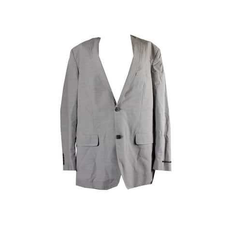 Inc International Concepts Grey Alex Classic-Fit Two-Button Blazer XL