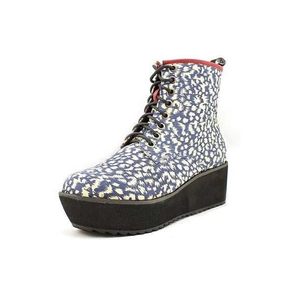 C Label Nata-11C Women Round Toe Synthetic Ankle Boot