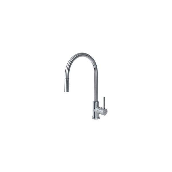 shop franke ff3350 eos pull down spray kitchen faucet stainless rh overstock com franke kitchen faucets canada franke kitchen faucet repair