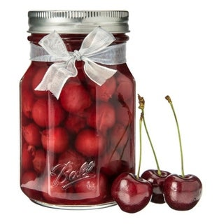 Ball 1440061186 Collection Elite Wide Mouth Sharing Mason Jars, 32 Oz, 4-Pack