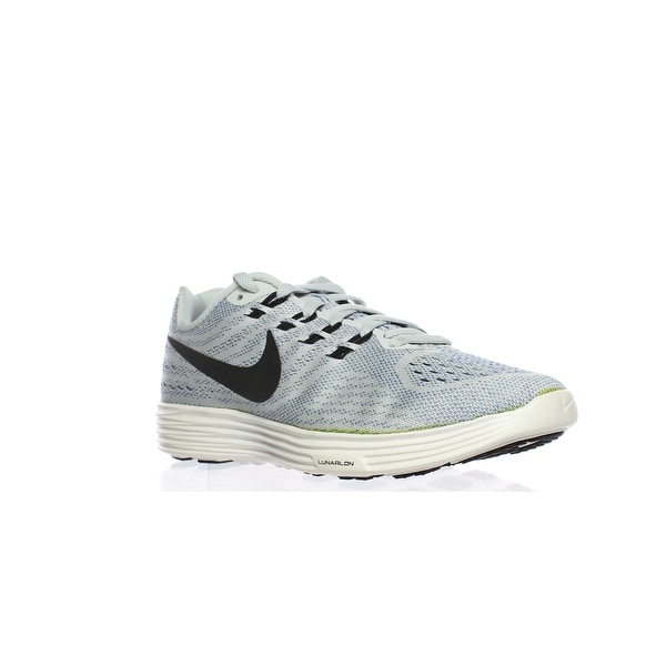 huge selection of 31e87 aa3a6 Nike Womens Lunar Tempo 2 Gray Running Shoes Size 6
