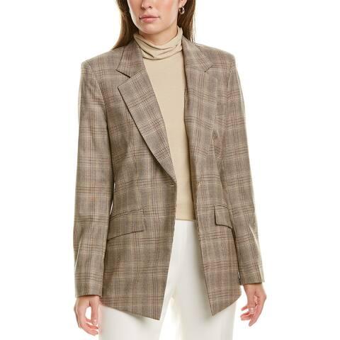 Lafayette 148 New York Virginia Wool-Blend Blazer