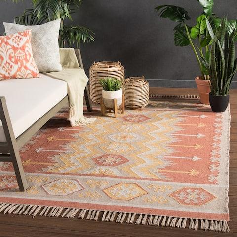 Sonoran Indoor/ Outdoor Geometric Area Rug