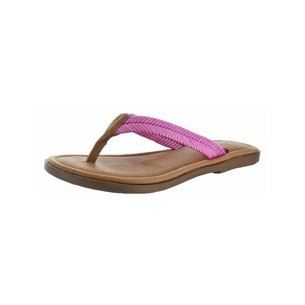 Sbicca Womens Elonara Thong Sandals Woven Flat