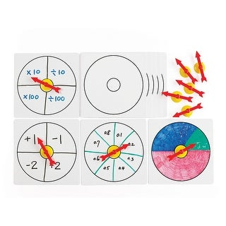 10 Suction Spinners W Whiteboards