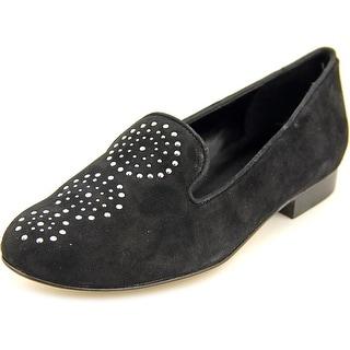 Vaneli Adon Women N/S Round Toe Suede Loafer