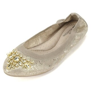 White Mountain Womens Careilla Closed Toe Ballet Flats