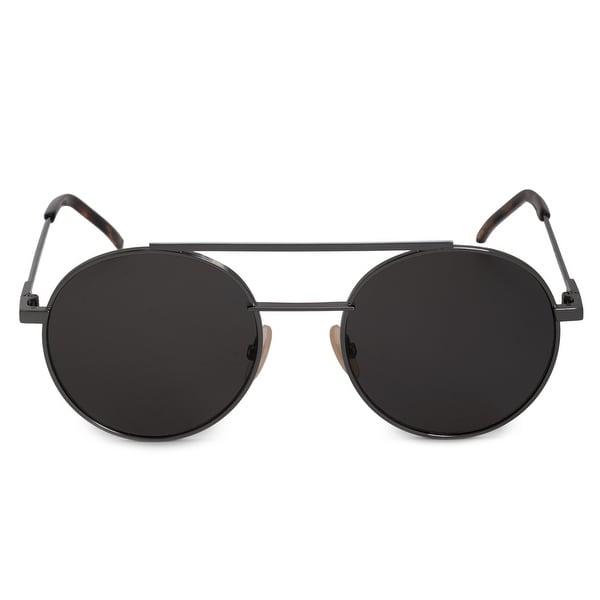 d010ad55bc Shop Fendi Air Round Sunglasses FF0221S KJ1 M9 52 - On Sale - Free ...