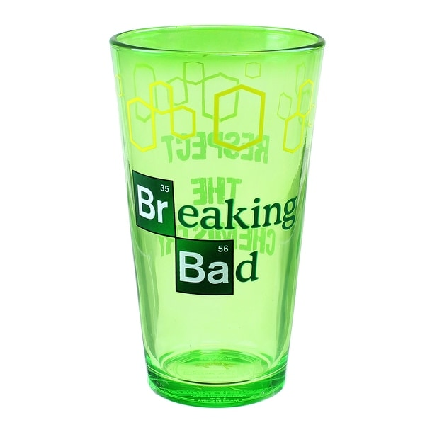 "Breaking Bad ""Respect The Chemistry"" 16oz Pint Glass - Multi"