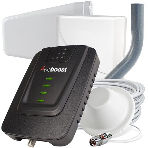 weBoost Connect 4G Home Cell Signal Booster - BONUS Antenna 470103-A