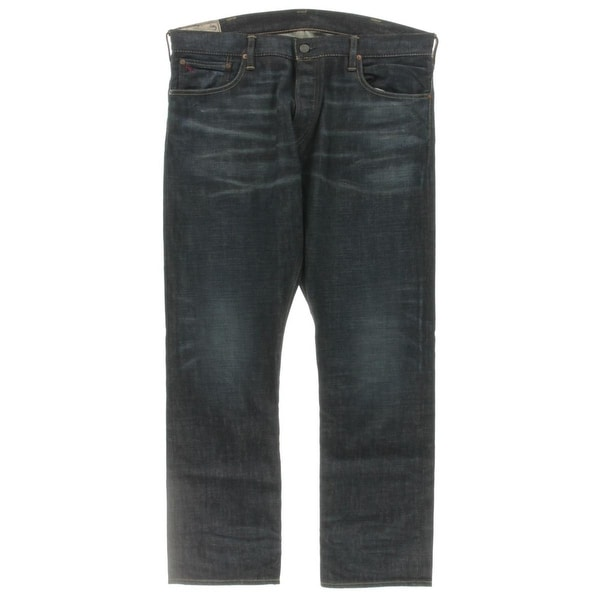 b975a4bb Shop Polo Ralph Lauren Mens Varick Straight Leg Jeans Slim Fit Button Fly -  Free Shipping Today - Overstock - 17654106