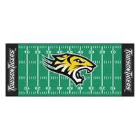 NCAA Towson University Tigers Football Field Runner Mat Area Rug